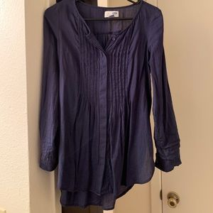 Old navy tunic navy blue size xs